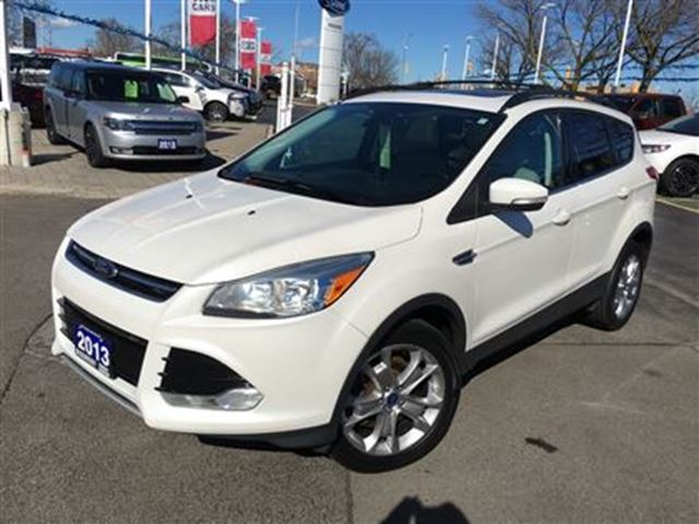 2013 ford escape sel awd white discovery ford. Black Bedroom Furniture Sets. Home Design Ideas