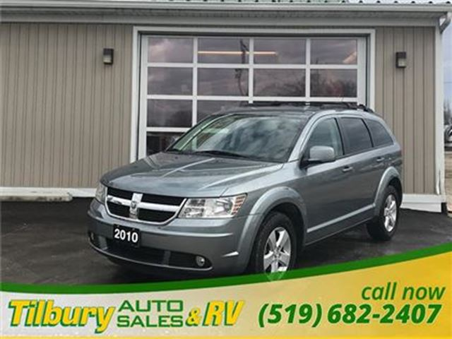 2010 DODGE JOURNEY SXT **Saftied, Etested and ready to go!** in Tilbury, Ontario