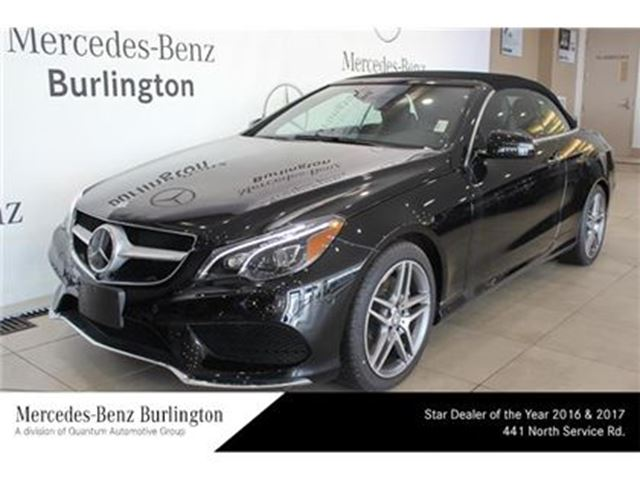 2017 mercedes benz e400 cabriolet burlington ontario for Mercedes benz of ontario ca