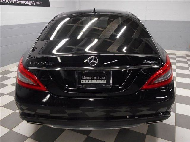 2014 mercedes benz cls class cls550 4matic advanced driving night view calgary alberta used. Black Bedroom Furniture Sets. Home Design Ideas