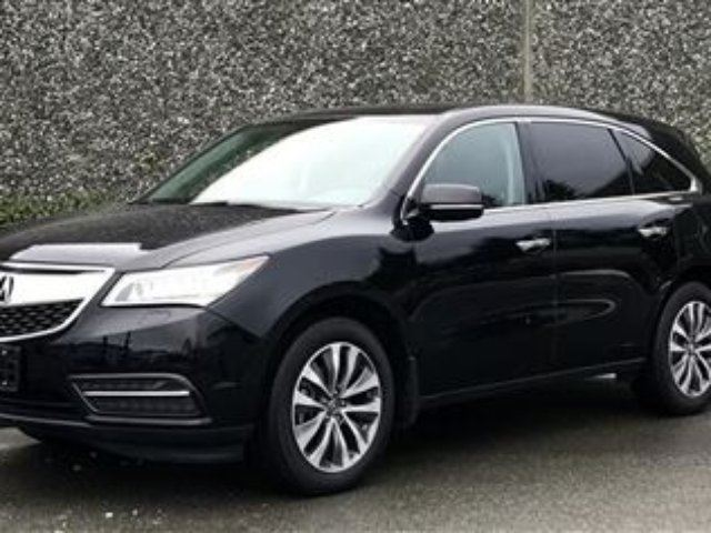 2014 ACURA MDX Navigation at in North Vancouver, British Columbia