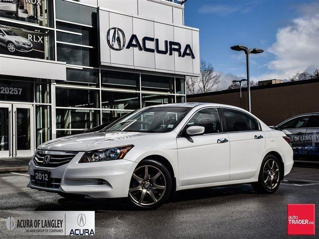 2012 HONDA ACCORD Sdn EX-L V6 at in Surrey, British Columbia