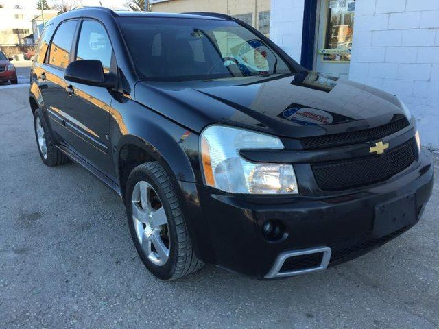 used 2008 chevrolet equinox sport winnipeg. Black Bedroom Furniture Sets. Home Design Ideas