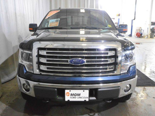 2014 ford f 150 lariat 4x4 supercab 6 5 ft box 145 in wb red deer alberta used car for sale. Black Bedroom Furniture Sets. Home Design Ideas
