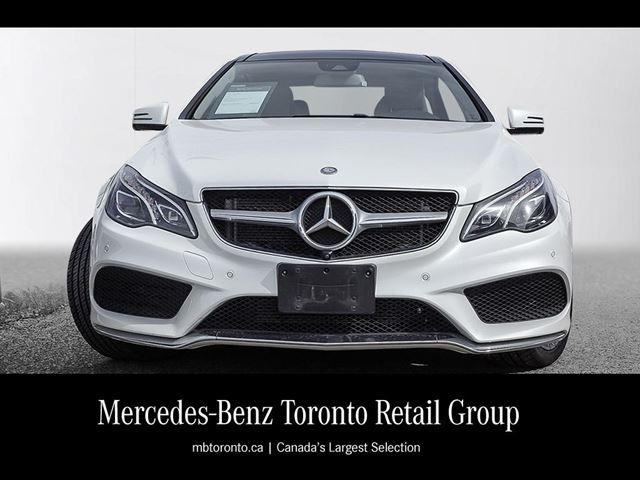 2015 mercedes benz e550 coupe mississauga ontario used for Mercedes benz e550 coupe