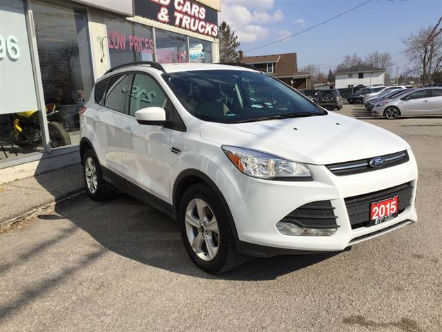 2015 ford escape se bluetooth heated seats backup camera bowmanville ontario used car. Black Bedroom Furniture Sets. Home Design Ideas