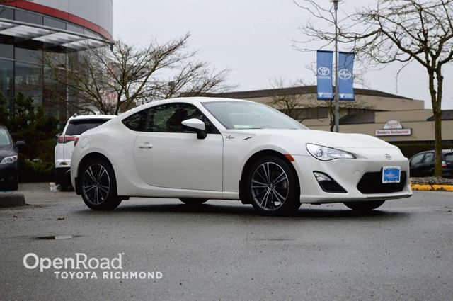 2015 Scion FR-S  Bluetooth, remote keyless entry, sport sequent in Richmond, British Columbia