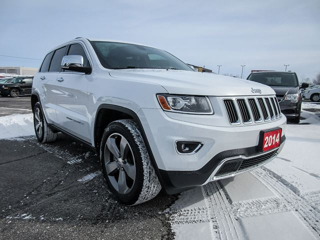 2014 jeep grand cherokee limited orillia ontario used car for sale 2716747. Black Bedroom Furniture Sets. Home Design Ideas
