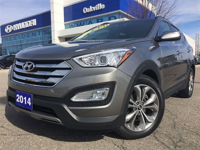 2014 hyundai santa fe limited awd navi leather one owner oakville ontario used car for sale. Black Bedroom Furniture Sets. Home Design Ideas