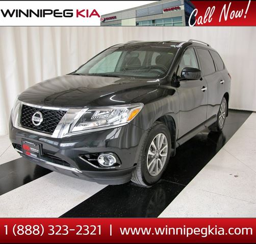 2016 nissan pathfinder sv winnipeg manitoba used car. Black Bedroom Furniture Sets. Home Design Ideas