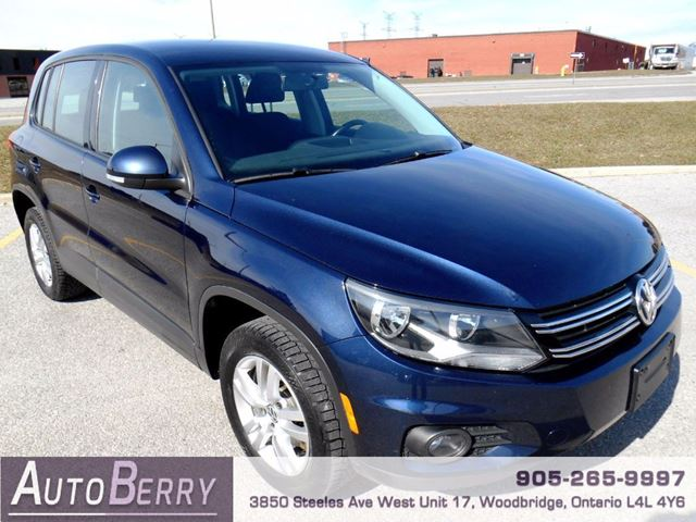 2013 VOLKSWAGEN TIGUAN 2.0L - TSI - 4MOTION in Woodbridge, Ontario