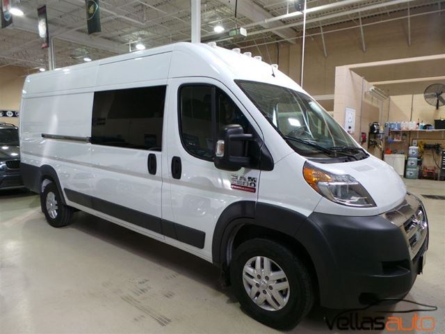used 2016 ram promaster 3500 high roof highroof navi 3pass 159 wheel base r camera vaughan. Black Bedroom Furniture Sets. Home Design Ideas