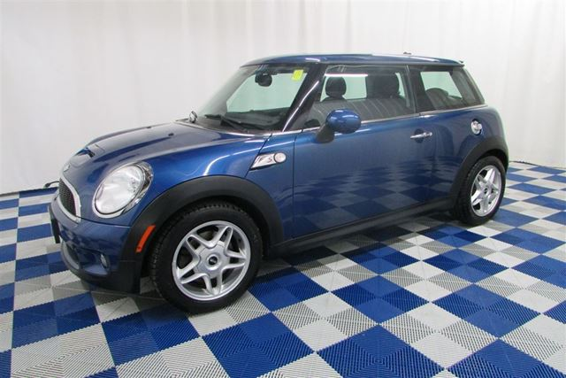 2008 MINI COOPER LEATHER INTERIOR/ALLOY WHEELS/SUNROOF in Winnipeg, Manitoba