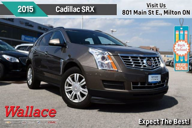 2015 CADILLAC SRX 1-OWNER TRADE/HEATED SEATS/8-INCH SCREEN/BOSE AUDI in Milton, Ontario