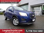 2016 Chevrolet Trax LT ACCIDENT FREE w/ AWD, REAR-VIEW CAMERA & SUNROOF in Surrey, British Columbia