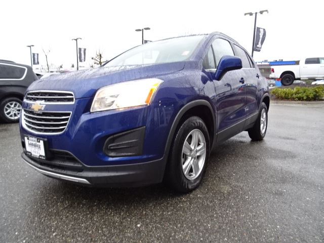 2016 chevrolet trax lt accident free w awd rear view camera sunroof surrey british. Black Bedroom Furniture Sets. Home Design Ideas