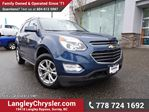 2016 Chevrolet Equinox LT ACCIDENT FREE w/ REAR-VIEW CAMERA & NAVIGATION in Surrey, British Columbia