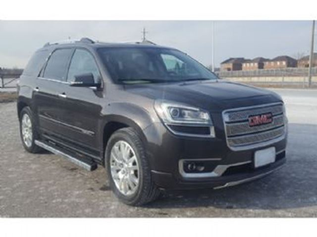 2015 gmc acadia awd 4dr denali mississauga ontario used car for sale 2718600. Black Bedroom Furniture Sets. Home Design Ideas
