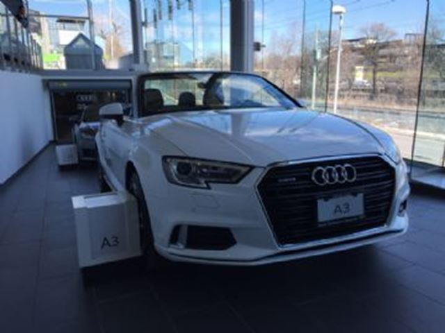 2017 Audi A3 Brand New Progressiv Convertible with Nav! $611 + HSt   in Mississauga, Ontario