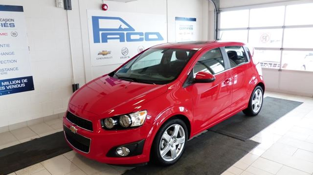 2016 chevrolet sonic lt chicoutimi quebec car for sale. Black Bedroom Furniture Sets. Home Design Ideas