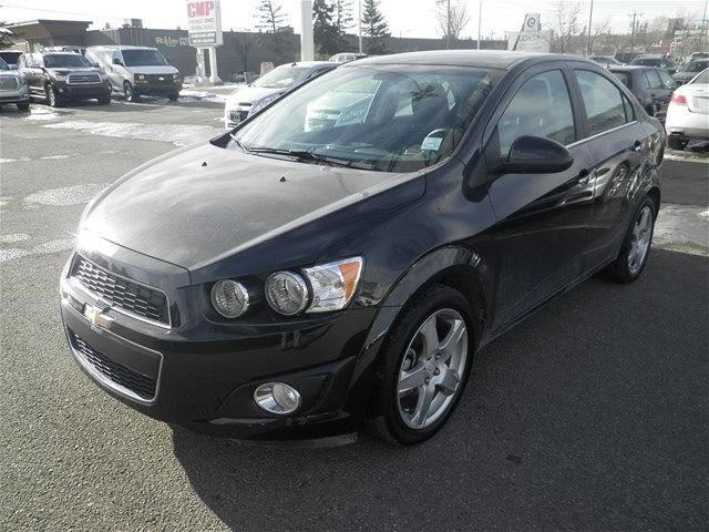 2014 chevrolet sonic lt calgary alberta used car for. Black Bedroom Furniture Sets. Home Design Ideas