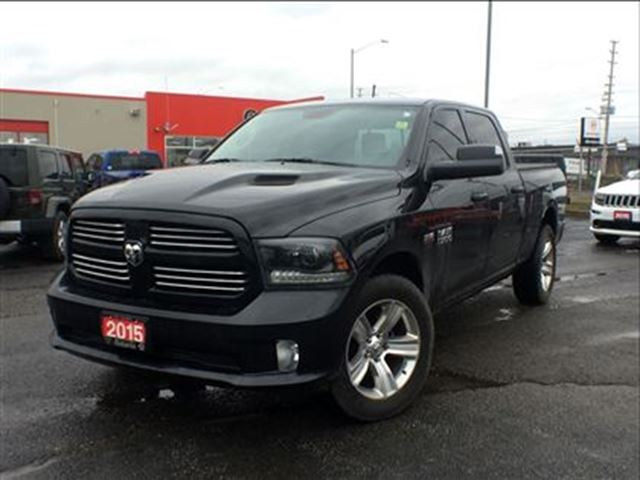 2015 dodge ram 1500 sport leather trailer tow package navigation b mississauga ontario. Black Bedroom Furniture Sets. Home Design Ideas