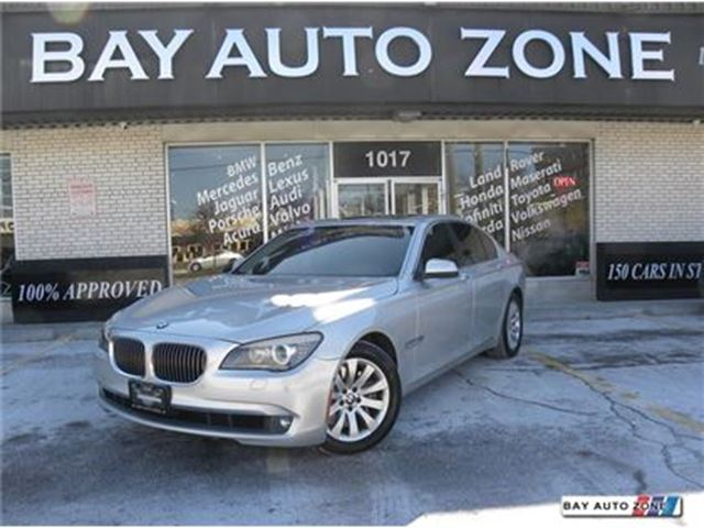 2010 BMW 7 Series 750 BITURBO EXECUTIVE PKG+ HEADS UP DISPLAY+ NAVIGATIO in Toronto, Ontario