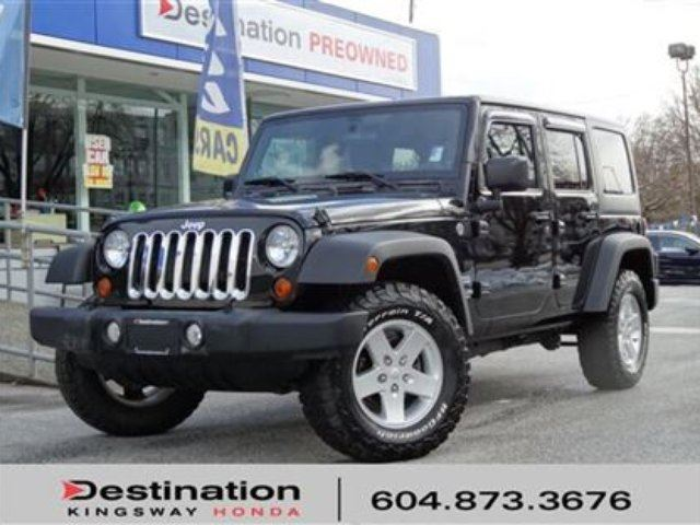 2013 JEEP WRANGLER Unlimited Sport in Vancouver, British Columbia