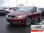 2014 Honda Civic Touring! Honda Certified Extended Warranty to 160 in Richmond, British Columbia