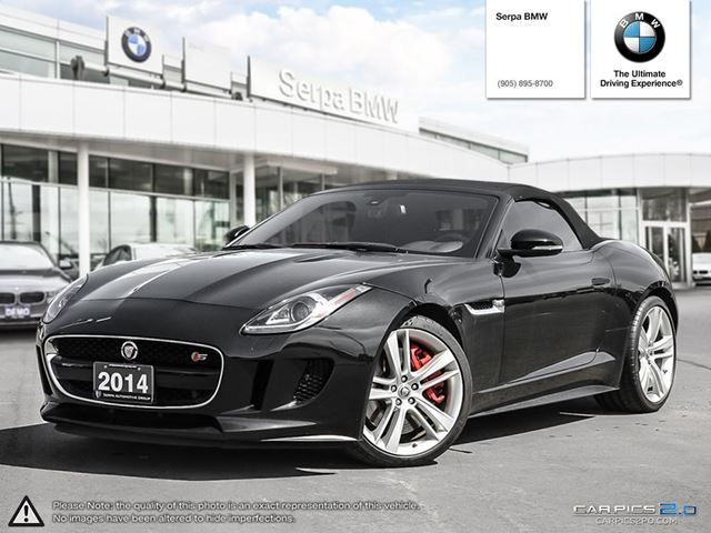2014 Jaguar F-TYPE Convertible V8 S in Newmarket, Ontario