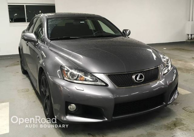 2012 lexus is f 4dr sdn grey openroad audi. Black Bedroom Furniture Sets. Home Design Ideas