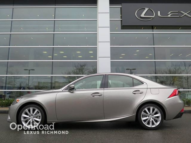 2015 lexus is 250 standard pkg richmond british columbia used car for sale 2719015. Black Bedroom Furniture Sets. Home Design Ideas