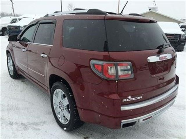 2015 gmc acadia denali plessisville quebec used car for sale 2719818. Black Bedroom Furniture Sets. Home Design Ideas
