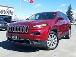 2016 Jeep Cherokee Limited-navigation-Safety tec group in Belleville, Ontario
