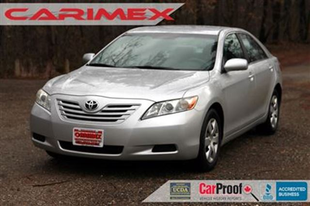 2008 toyota camry le accident free only 78k certified e test silver carimex auto sales ltd. Black Bedroom Furniture Sets. Home Design Ideas