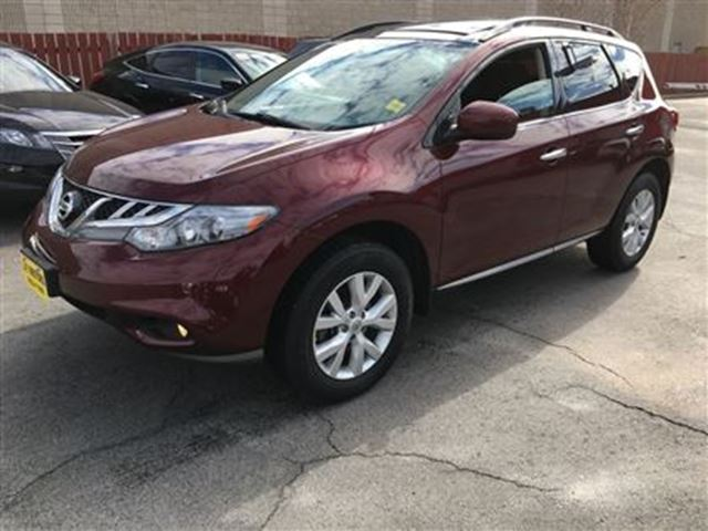 2012 Nissan Murano SV, Automatic, Panoramic Sunroof, Heated Seats, AW in Burlington, Ontario