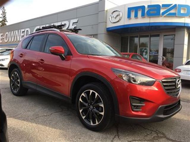 2016 mazda cx 5 gt touring awd leather sunroof nav reverse cam red mazda of toronto. Black Bedroom Furniture Sets. Home Design Ideas