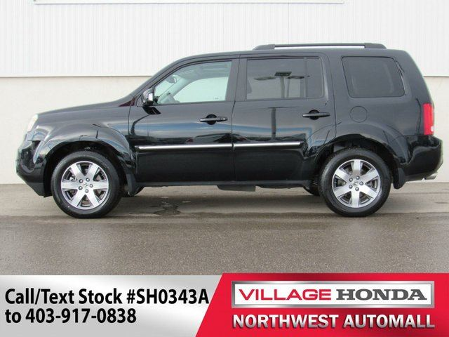 2015 honda pilot touring 4wd calgary alberta used car. Black Bedroom Furniture Sets. Home Design Ideas