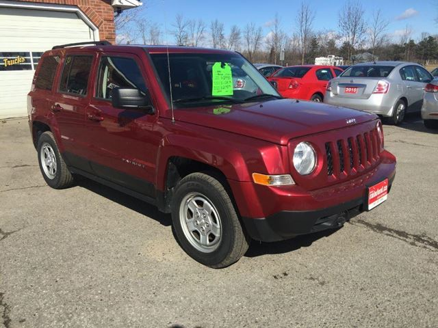 2012 jeep patriot sport bowmanville ontario used car. Black Bedroom Furniture Sets. Home Design Ideas