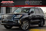 2015 Lexus LX 570 4x4 Luxury Pkg Rr DVD's Nav Mark Levinson Audio 20Alloys in Thornhill, Ontario
