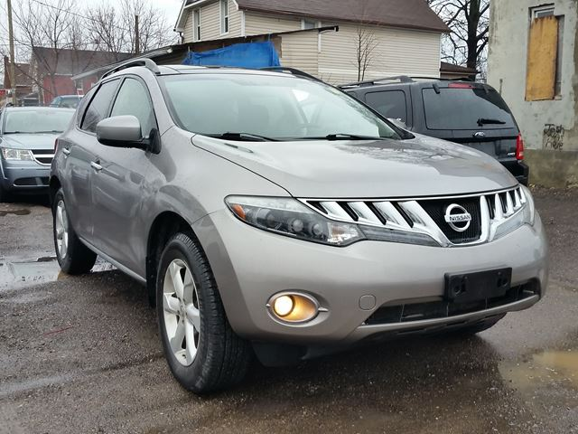 2009 nissan murano oshawa ontario used car for sale 2719974. Black Bedroom Furniture Sets. Home Design Ideas