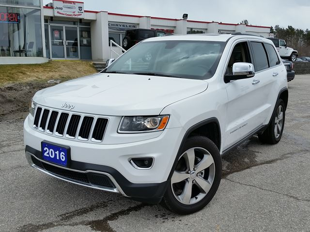 used 2016 jeep grand cherokee limited 4x4 orillia. Black Bedroom Furniture Sets. Home Design Ideas