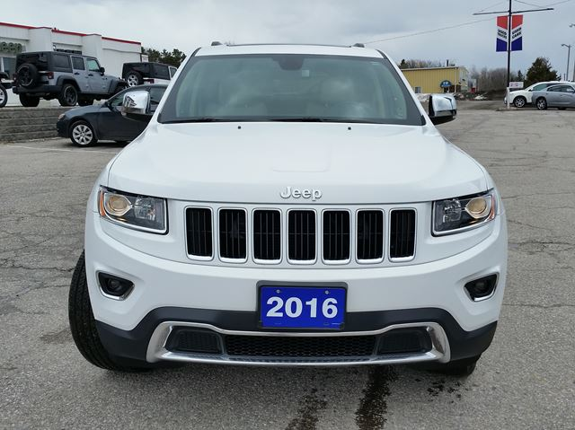 2016 jeep grand cherokee limited 4x4 orillia ontario used car for sale 2720628. Black Bedroom Furniture Sets. Home Design Ideas