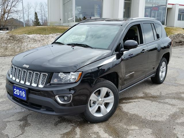 used 2016 jeep compass high altitude 4x4 orillia. Black Bedroom Furniture Sets. Home Design Ideas