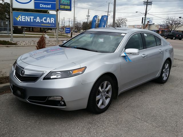 2012 acura tl w tech pkg etobicoke ontario used car for sale 2720670. Black Bedroom Furniture Sets. Home Design Ideas