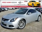 2012 Nissan Altima 3.5 SR 6spd w/NAV,all leather,rear cam,pwr moonroof,climate control in Cambridge, Ontario
