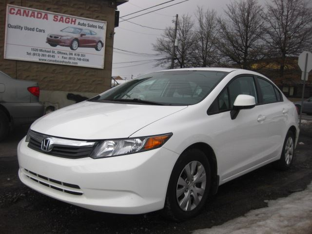2012 honda civic 2012 honda civic lx very clean 104km for 2012 honda civic white