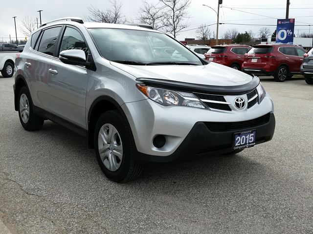 2015 toyota rav4 le awd clean local trade collingwood ontario used car for sale 2722106. Black Bedroom Furniture Sets. Home Design Ideas