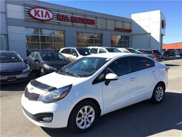 2013 kia rio lx brantford ontario used car for sale. Black Bedroom Furniture Sets. Home Design Ideas