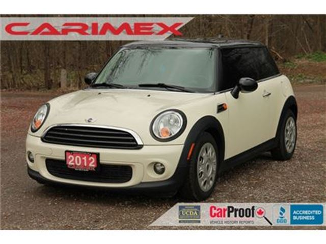 2012 MINI COOPER Knightsbridge Edition   Sunroof   CERTIFIED in Kitchener, Ontario